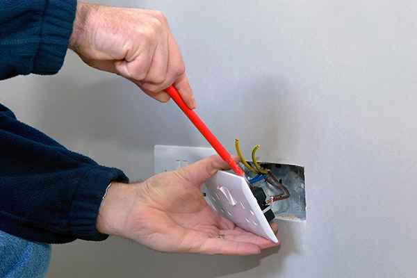 electrical socket replacement